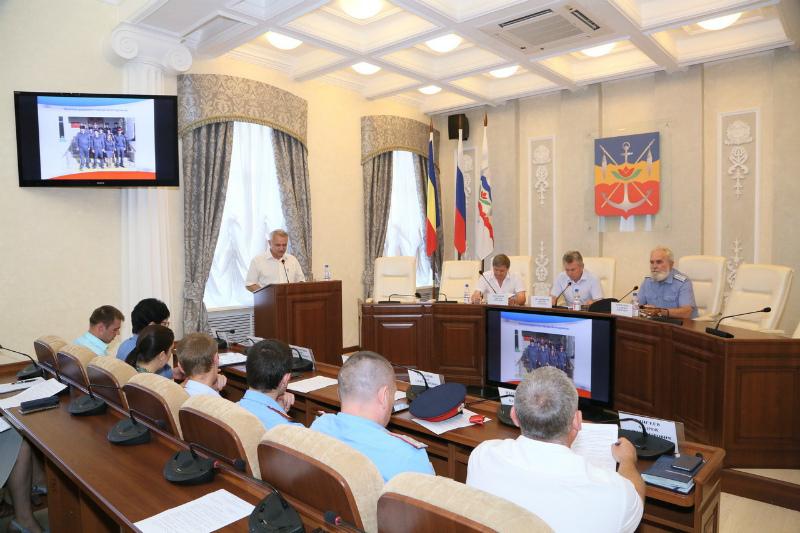 В администрации Волгодонска состоялось заседание Общественного совета по делам казачества