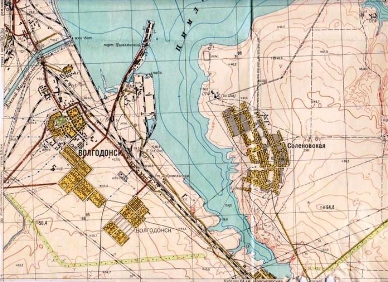 49 лет назад в Волгодонске было выбрано место под строительство «Атоммаша»