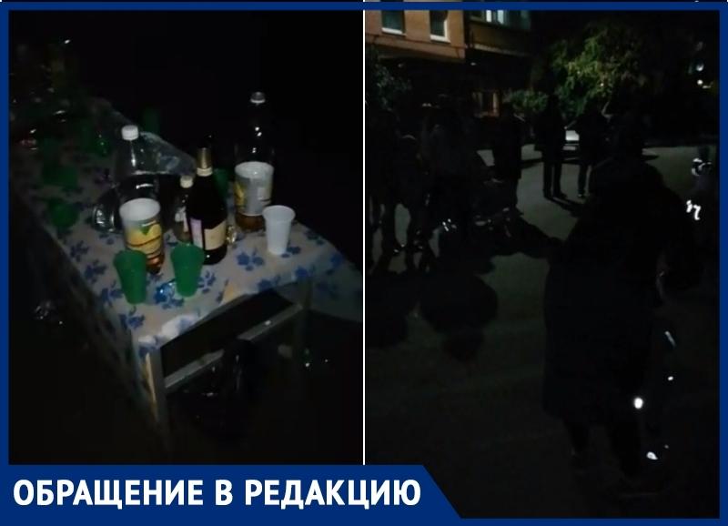 «Праздник, которого мы достойны»: председатель ТСЖ решил развлечь жителей Весенней танцами и алкоголем