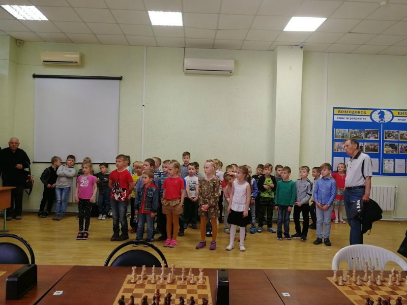 Турнир по шахматам памяти Владимира Кондрашова среди юных шахматистов прошел в Волгодонске