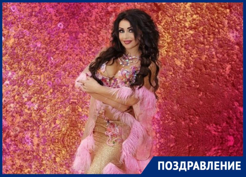 15 апреля день рождения отмечает мастер восточного танца Елена Олейникова