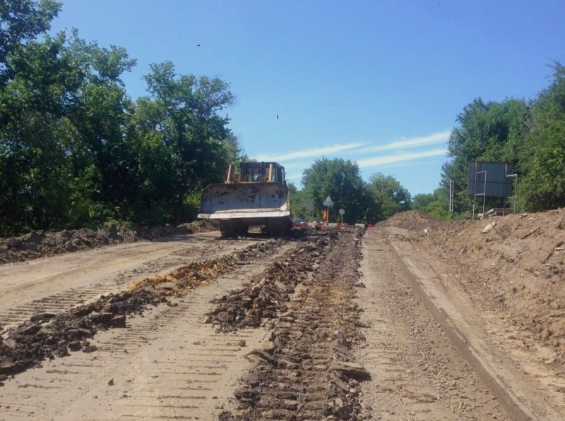 Капитальный ремонт дороги на трассе Ростов-Волгодонск завершится в октябре
