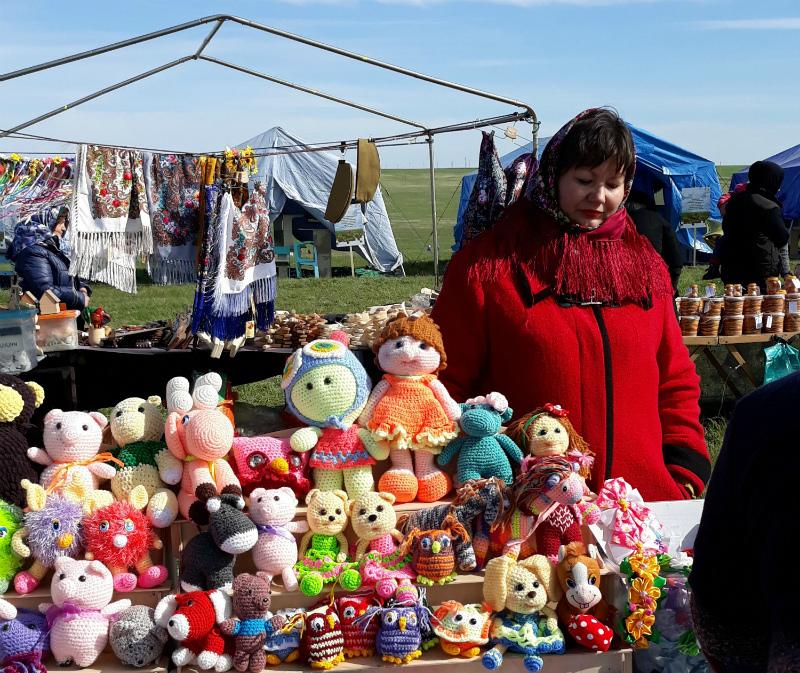 Творческая мастерская «Волгодончанка» приняла участие в масштабном фестивале «Воспетая степь»