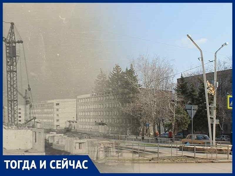 Волгодонск тогда и сейчас: новая улица на месте большой лужи