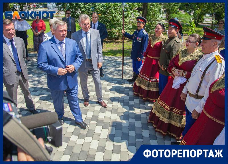 Как Волгодонск встретил Василия Голубева