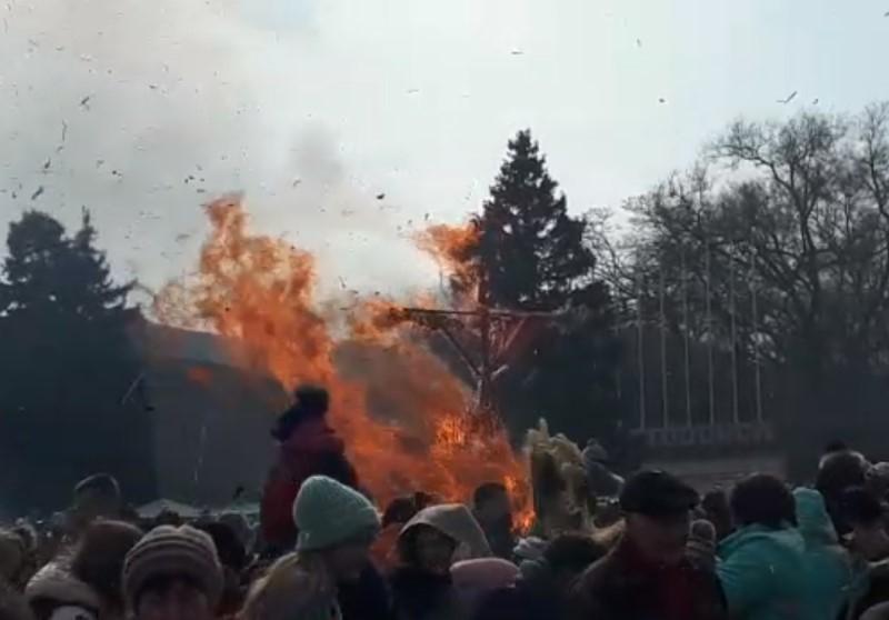«Чучело, гори!»: Волгодонск попрощался с зимой