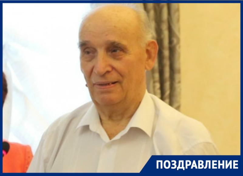 Почетный гражданин Волгодонска Михаил Яковенко отметил 89-й день рождения