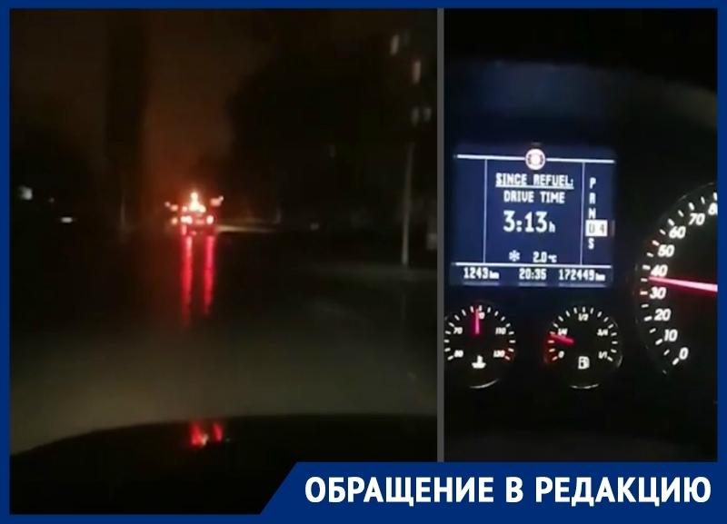 «Свет тут включают только днем?»: волгодонцы об освещении улицы Горького