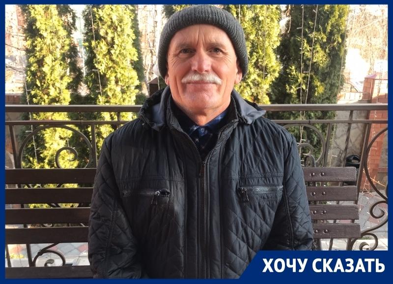 «Украшая дворы покрышками, мы травим себя»: волгодонец Анатолий Мельников