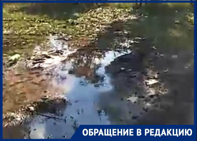 «Третий день затапливает улицу Курчатова»: волгодончанка