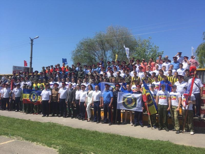 Команда «Донцов» из Волгодонска впервые приняла участие в Войсковом Слете казачьей молодежи