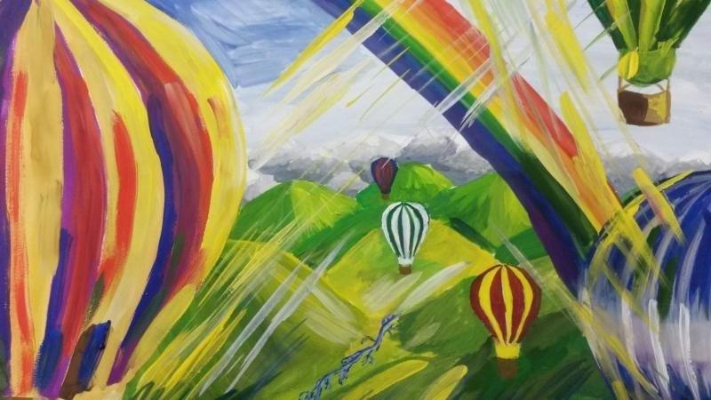 Картина 14-летней школьницы из Волгодонска появилась в Третьяковской галерее
