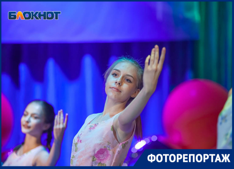 Яркий концерт подарили выпускникам Волгодонска творческие коллективы города