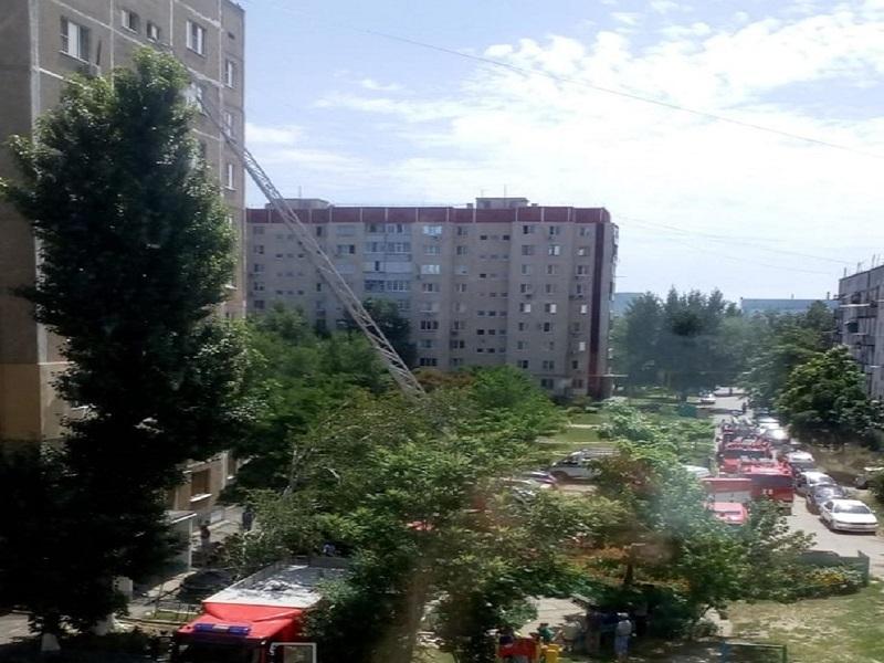 Стала известна причина пожара в многоэтажном доме на Гагарина