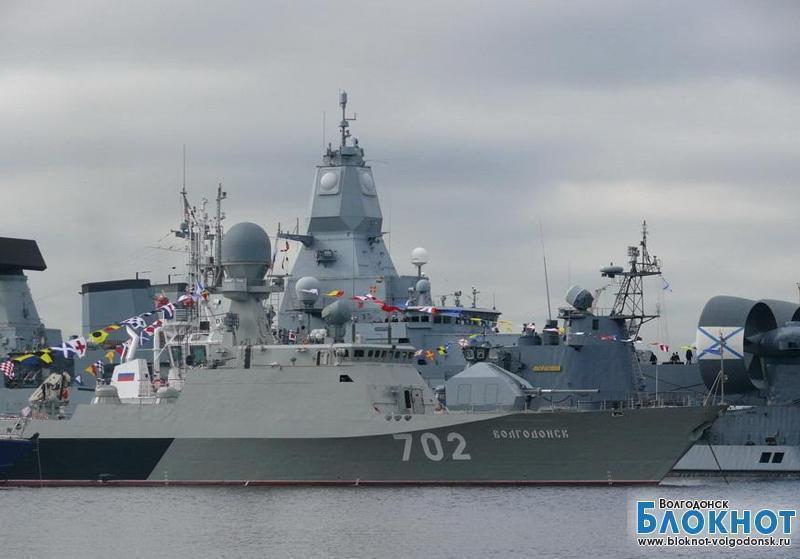 Корабль «Волгодонск» принял участие в крупных учениях на севере Каспия