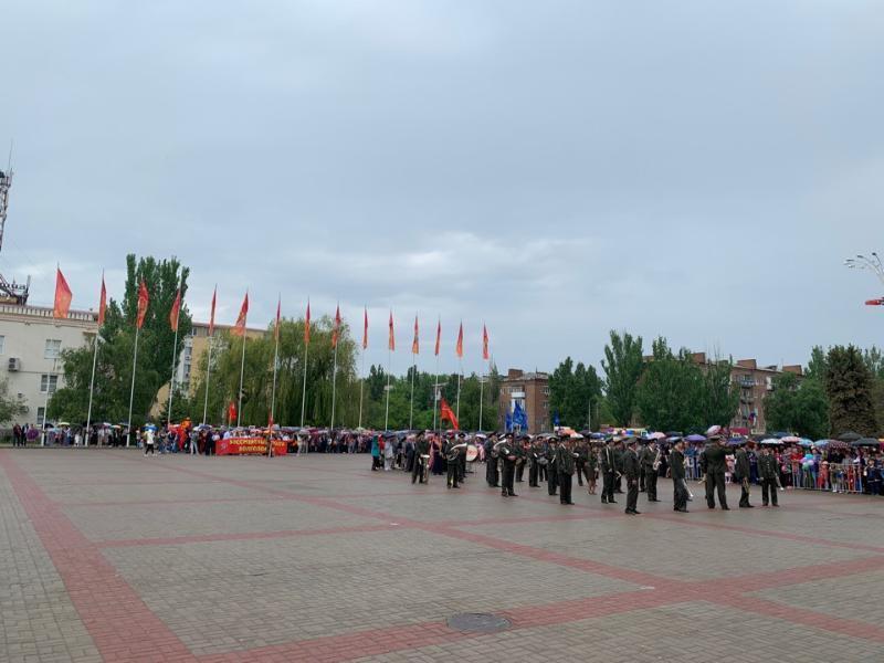 Волгодонск готовится принять парад Победы