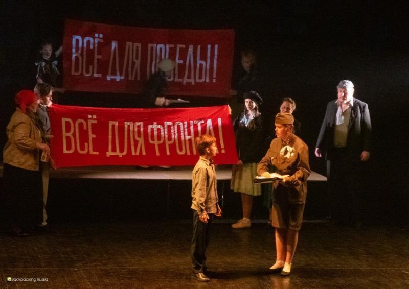 В день 78-й годовщины начала Великой Отечественной войны ВМДТ покажет тематический спектакль «Помнить – для того, чтобы жить!»