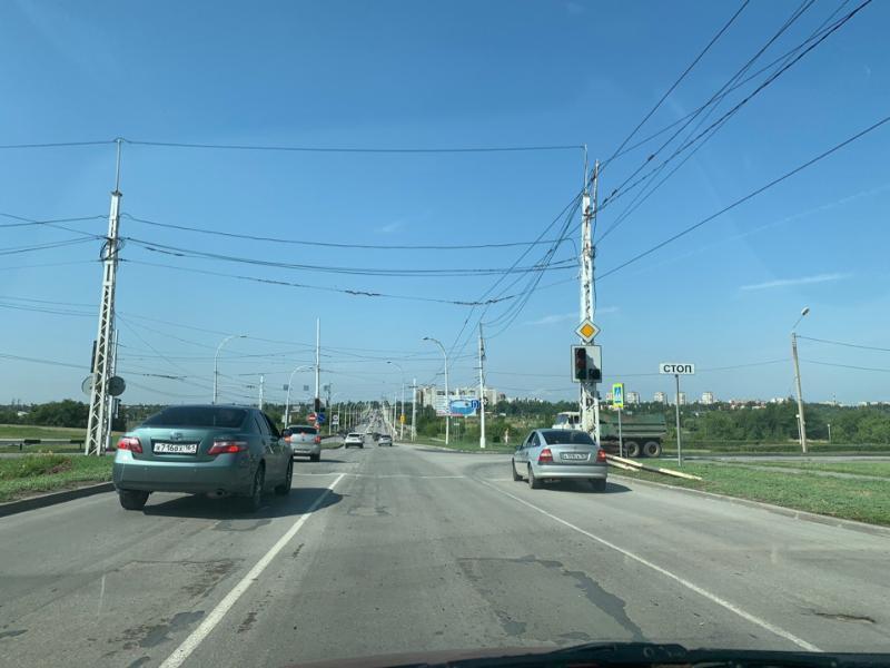 Из-за приезда губернатора Василия Голубева в Волгодонске отключили светофоры