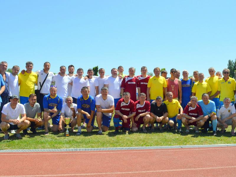 Ветераны городского футбола сразились в поединке за Кубок Волгодонска