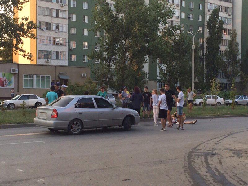 В Волгодонске на улице Гагарина «Хендай-Акцент» сбил женщину