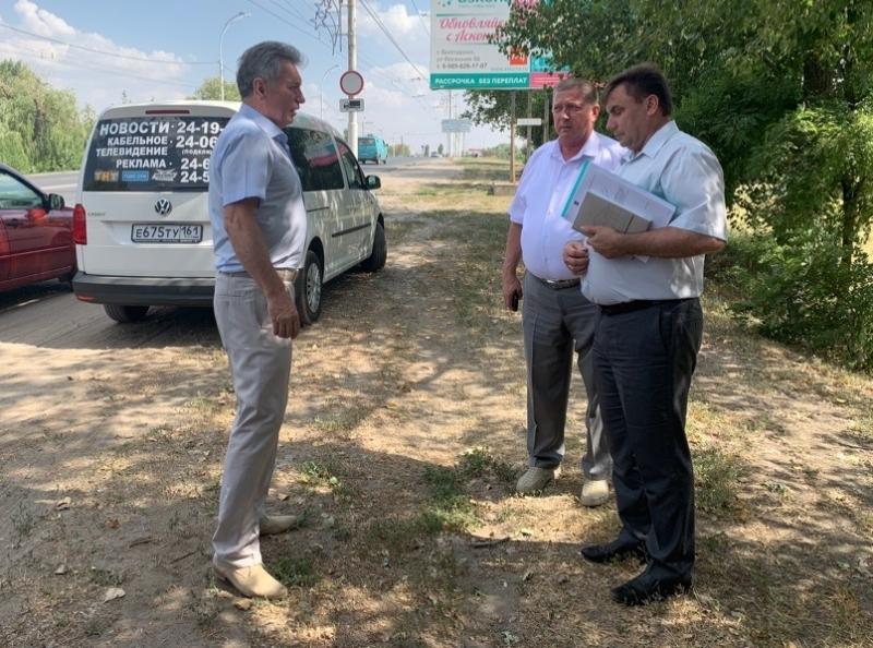 Виктор Мельников вместе со СМИ объезжает Волгодонск