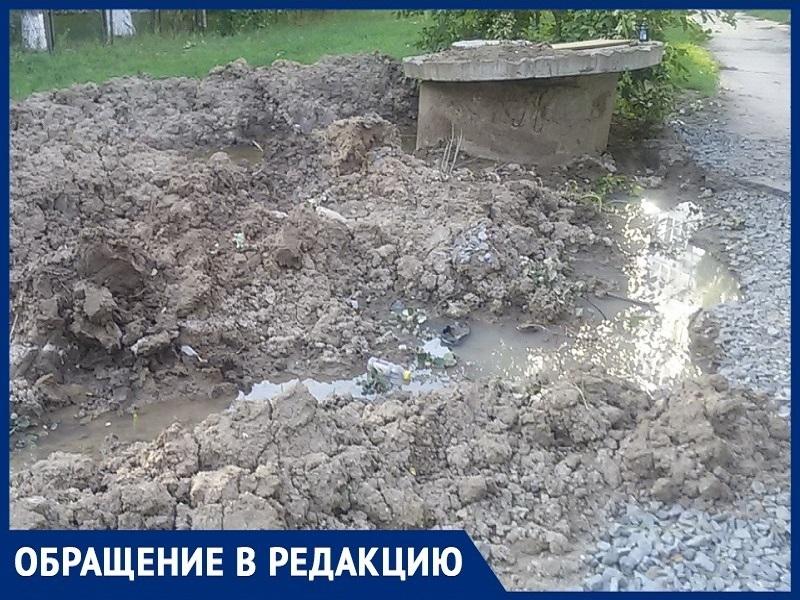«Водоканал» соорудил комариную ферму под нашими окнами и подтопил школу: житель Волгодонска