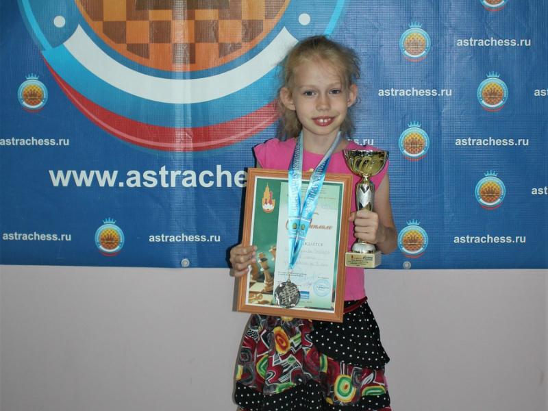 Талантливая шахматистка из Волгодонска завоевала серебро детского кубка России