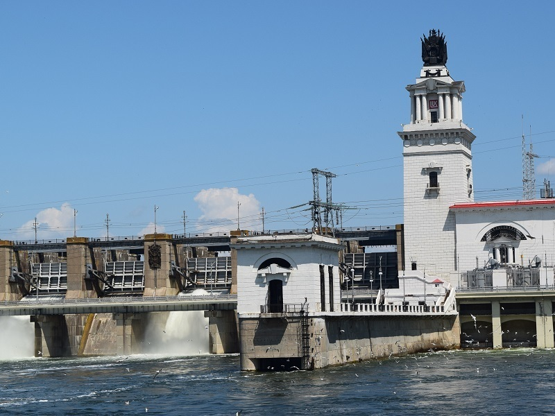 Ливни сократили падение уровня Цимлянского водохранилища