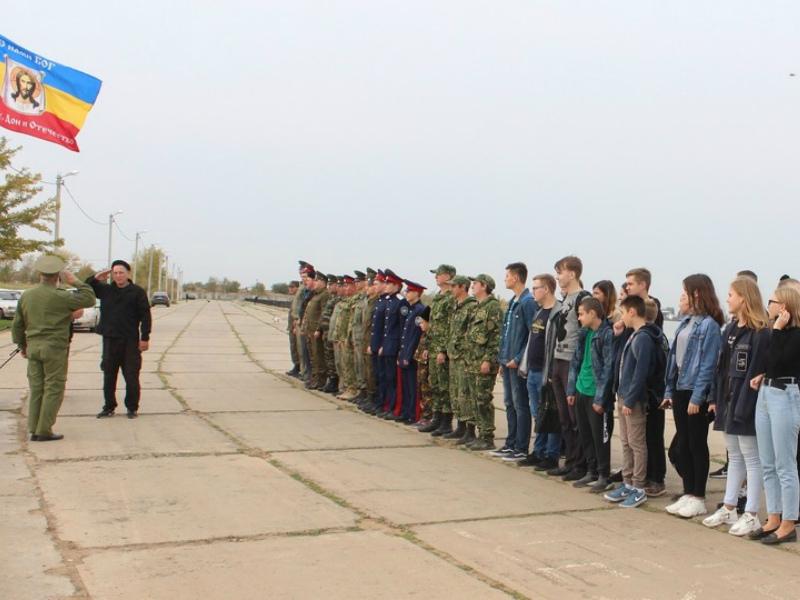 В Волгодонске состоялись военно-полевые сборы казаков Волгодонского городского казачьего общества