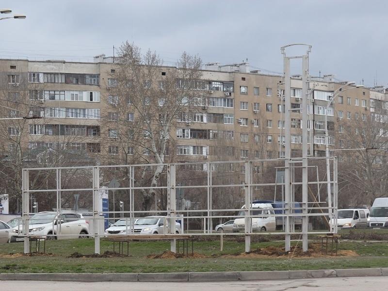 На въезде в «новый» город устанавливают большую светящуюся  надпись «Волгодонск - моя судьба»