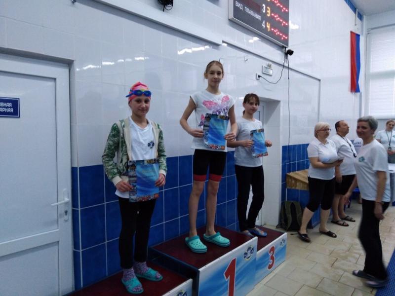 Новые рекорды установили спортсмены в соревнованиях по плаванию в Волгодонске