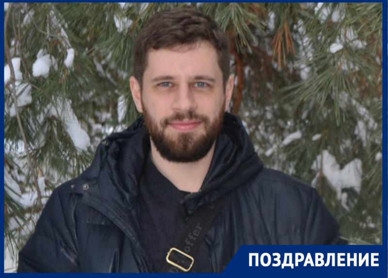 Автор книги про постапокалиптический Волгодонск Виктор Лебедев отмечает день рождения