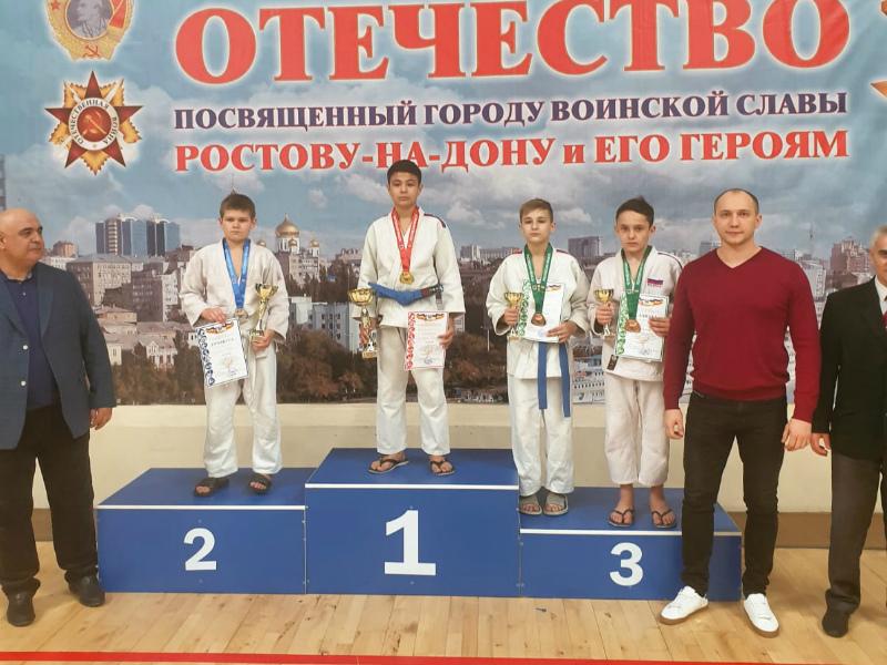 Спортсмены Волгодонска успешно выступили на Всероссийском турнире по дзюдо