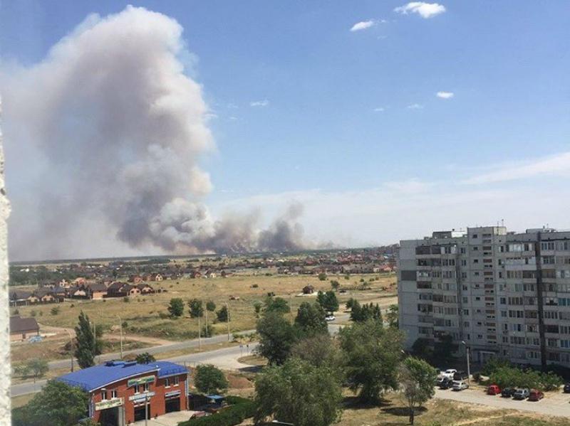 Свыше трех гектар пшеницы уничтожил крупный пожар под Волгодонском