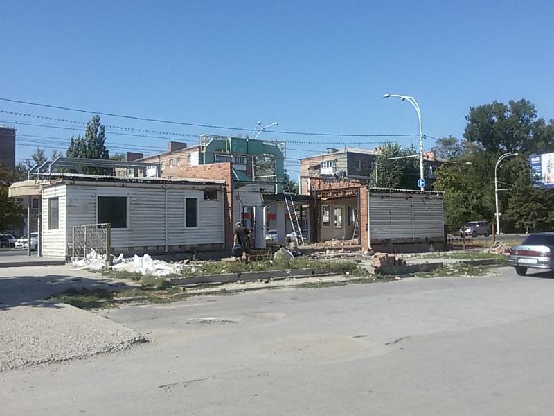 В Волгодонске началась реконструкция привокзальной площади