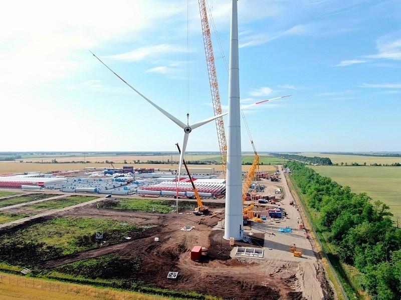 Десятки гектаров земли под Зимовниками арендуют для строительства ветроэлектростанции