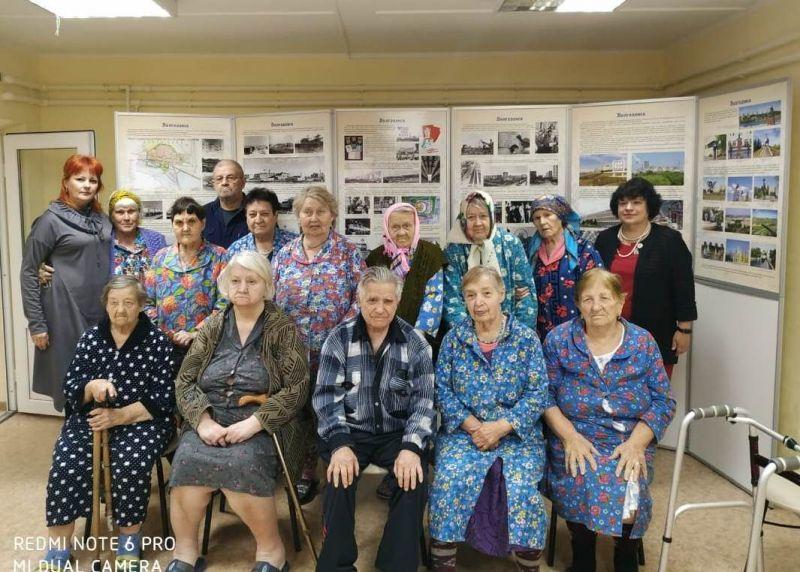 Пожилые волгодонцы окунулись в воспоминания о молодом Волгодонске