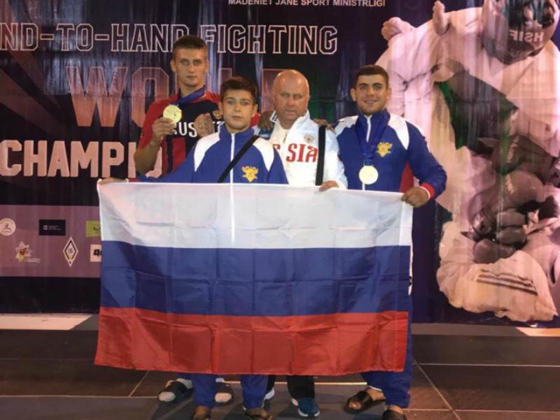 Волгодонец Александр Бобырев стал трехкратным чемпионом первенства Мира по рукопашному бою