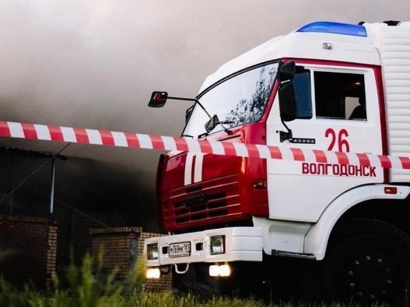 При пожаре в частном доме в Волгодонском районе погиб человек