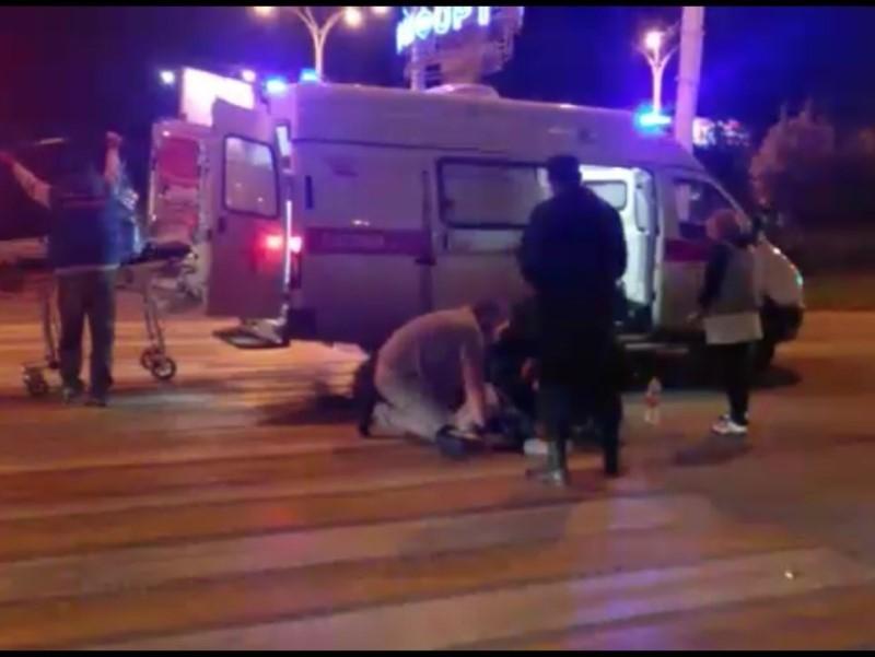 Рано утром на «зебре» у Комсомольской площади сбили пешехода