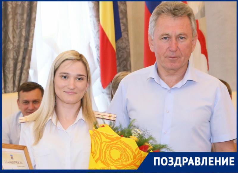 Глава администрации поздравил Анну Новикову с победой на чемпионате Мира