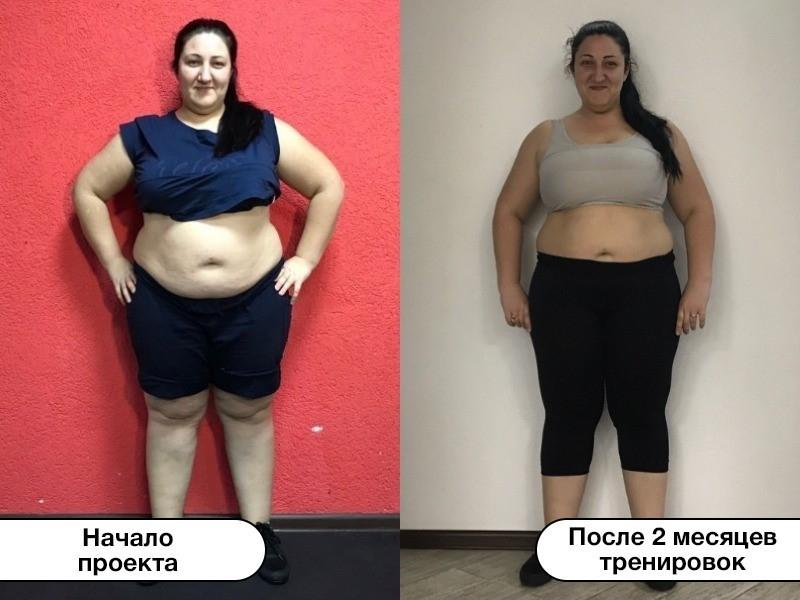 Волгодончанка Инна Филимонцева похудела на 8,8 кг за два месяца тренировок в «Сбросить лишнее»