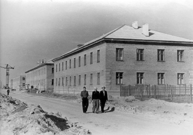 Волгодонск прежде и теперь: переулок Донской