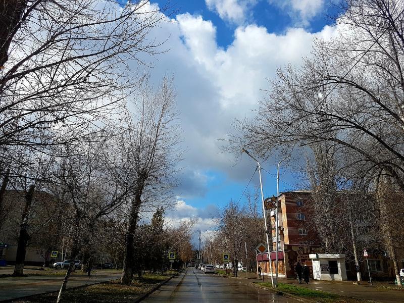 Пасмурно, но тепло будет сегодня в Волгодонске