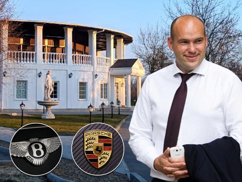 Передвигающийся на «Бентли» депутат Сергей Васильченко задекларировал скромный доход, как у директора школы