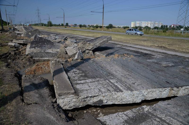 Покрытие дороги от Волгодонска до РоАЭС будет представлять из себя «слоеный пирог»
