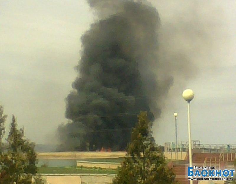 Что горит в Волгодонске?