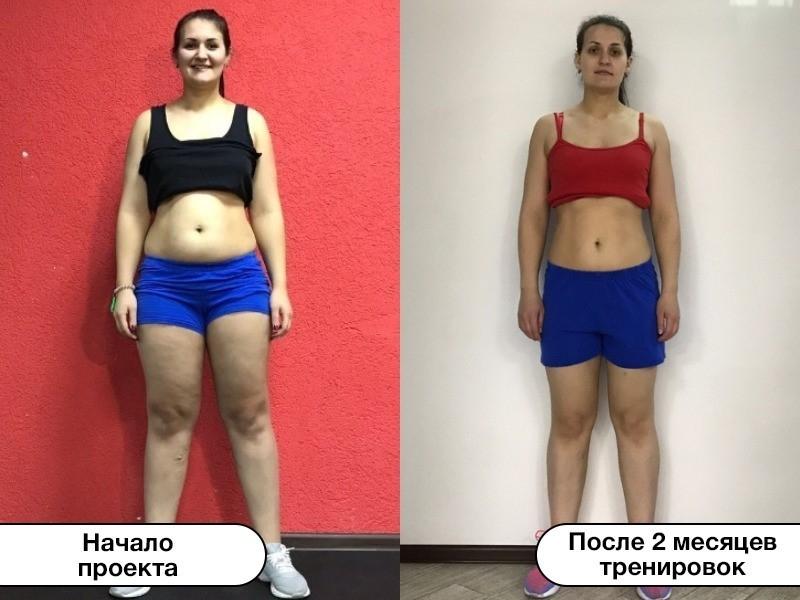 Молодая мама Ксения Чуплакова похудела на 7,8 кг за два месяца проекта «Сбросить лишнее»