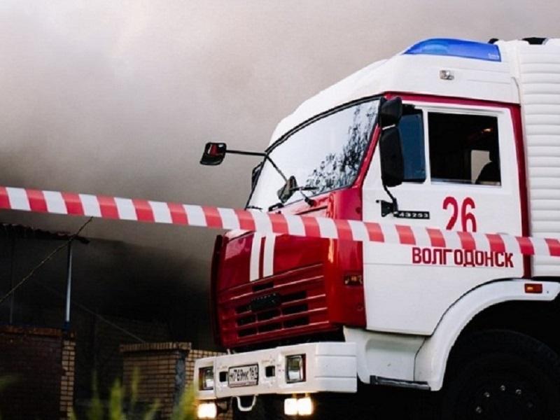 В Волгодонске загорелась пятиэтажка на въезде в новый город