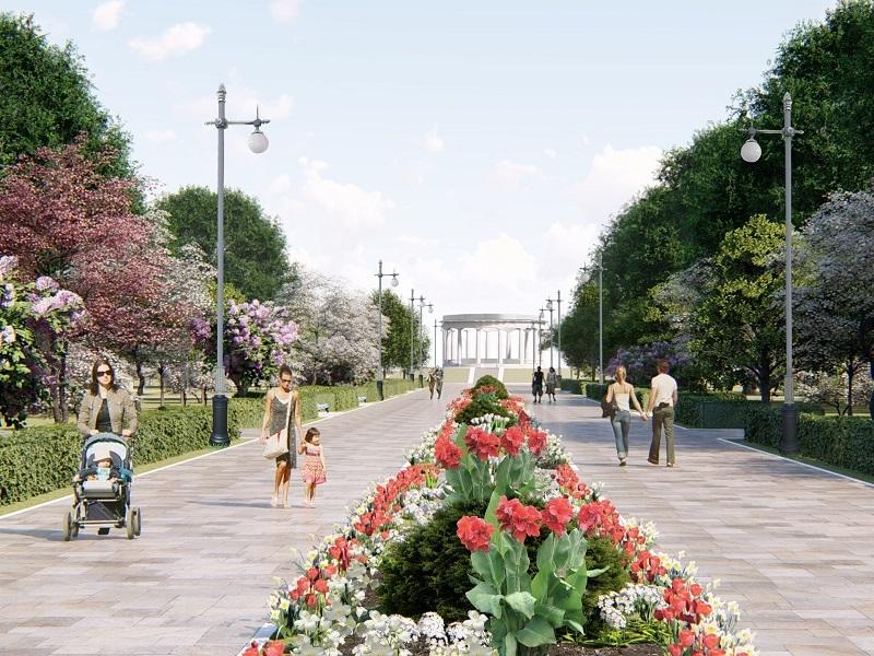 Стал известен новый облик Приморского парка в Цимлянске
